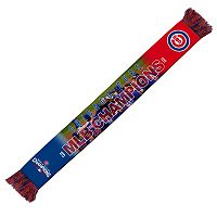 Adult Forever Collectibles Chicago Cubs 2016 World Series Champions Scarf