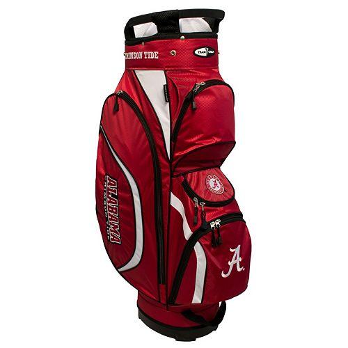Team Golf Alabama Crimson Tide Clubhouse Golf Cart Bag