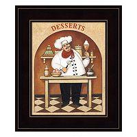 Desserts Framed Wall Art