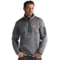 Men's Antigua Cincinnati Reds Fortune Pullover
