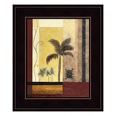 Exotic Palm I Framed Wall Art