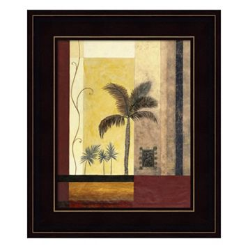 Exotic Palm I Framed Wall Art