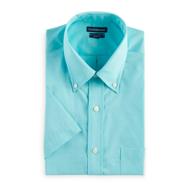 Men\u0027s Croft \u0026 Barrow� Button-Down Collar Dress Shirt