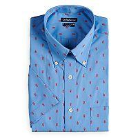 Men's Croft & Barrow® Button-Down Collar Dress Shirt