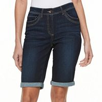 Petite Kate and Sam Jean Bermuda Shorts