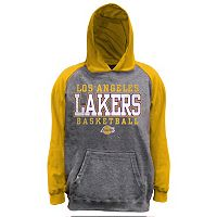 Boys 8-20 Majestic Los Angeles Lakers French Terry Hoodie