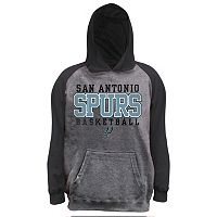 Boys 8-20 Majestic San Antonio Spurs French Terry Hoodie