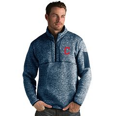 Men's Antigua Cleveland Indians Fortune Pullover