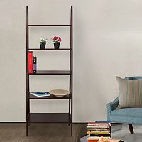 Casual Home 5-Shelf Ladder Bookcase