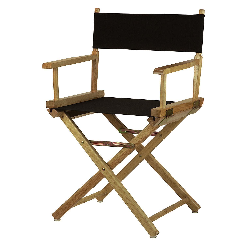 Natural Finish Directoru0027s Chair