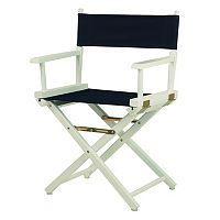 Casual Home 18-in. White Finish Director's Chair