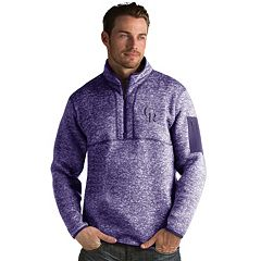 Men's Antigua Colorado Rockies Fortune Pullover