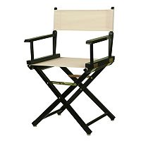 Casual Home 18 in Black Finish Director's Chair