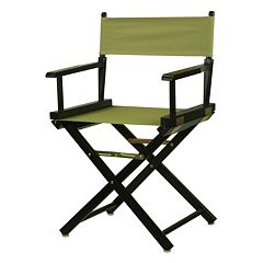 Casual Home 18-in. Black Finish Director's Chair