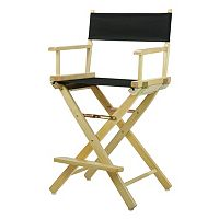 Casual Home 24-in. Natural Finish Director's Chair