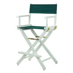 Casual Home 24-in. White Finish Director's Chair