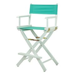 Casual Home 24 in White Finish Director's Chair