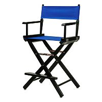 Casual Home 24-in. Black Finish Director's Chair