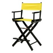 Casual Home 24 in Black Finish Director's Chair