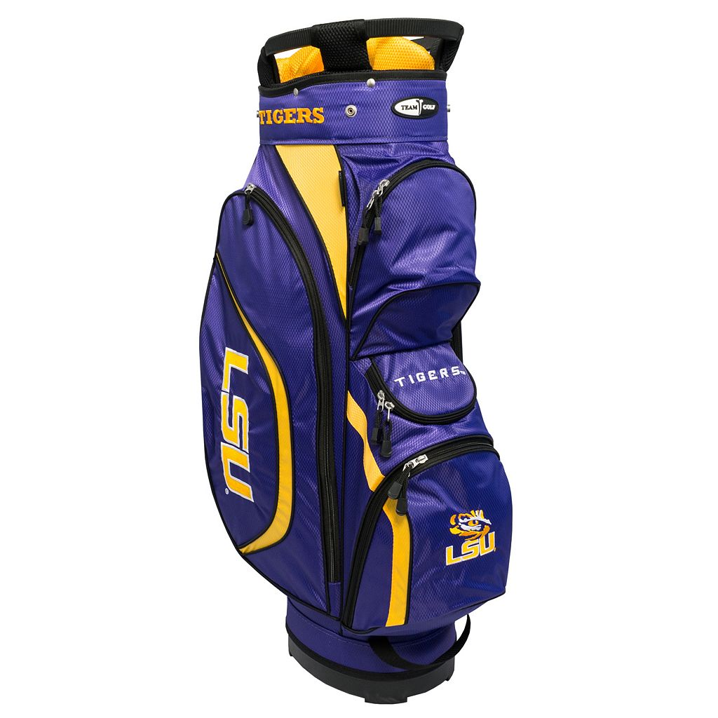Team Golf LSU Tigers Clubhouse Golf Cart Bag