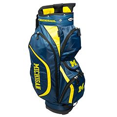 Team Golf Michigan Wolverines Clubhouse Golf Cart Bag