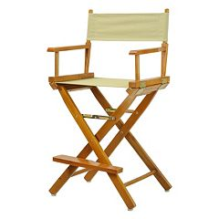Casual Home 24 in Honey Oak Finish Director's Chair