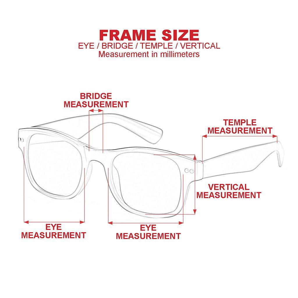 Men's Dockers Polarized Mirror Wrap Sunglasses