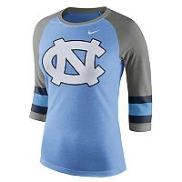 Women's Nike North Carolina Tar Heels Striped Sleeve Tee