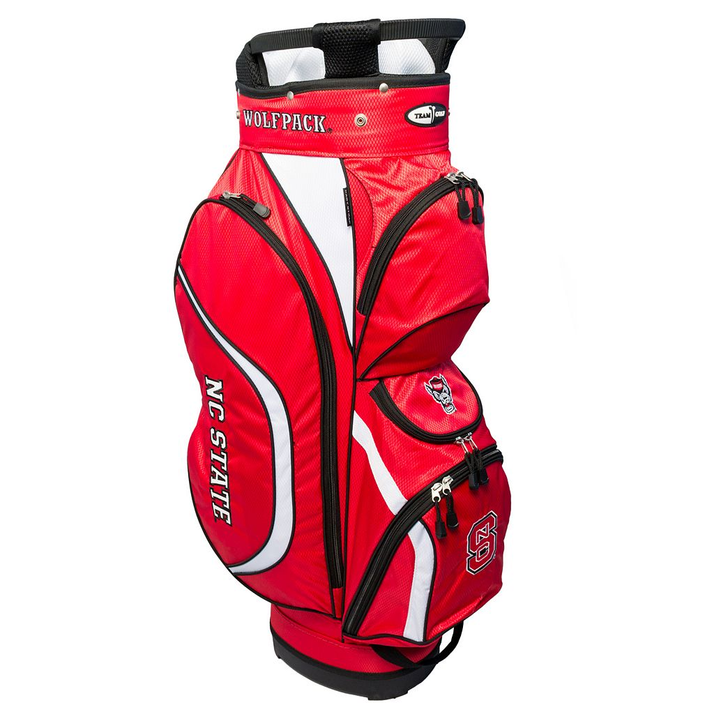 Team Golf North Carolina State Wolfpack Clubhouse Golf Cart Bag