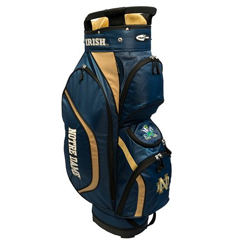 Team Golf Notre Dame Fighting Irish Clubhouse Golf Cart Bag