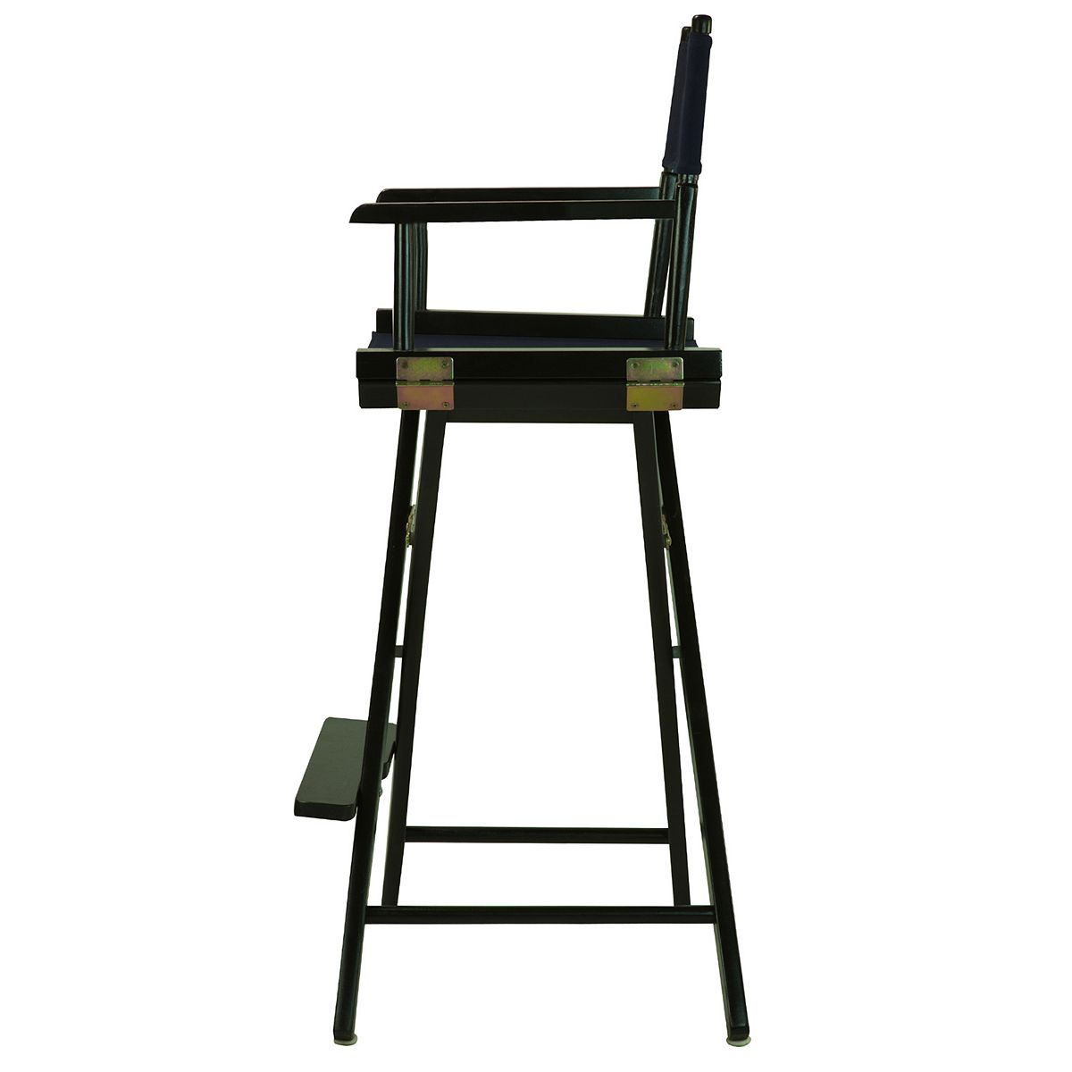 Casual Home 30'' Black Finish Director's Chair Bar Stool Black 2mnDk