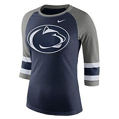 Women's Nike Penn State Nittany Lions Striped Sleeve Tee