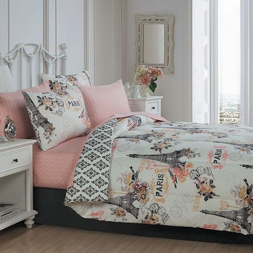 Cherie 6-piece Complete Bedding Set