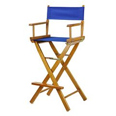 Casual Home 30'' Honey Finish Director's Chair Bar Stool