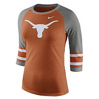 Women's Nike Texas Longhorns Striped Sleeve Tee