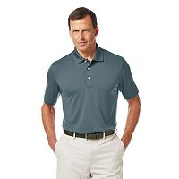 Men's Grand Slam Athletic-Fit Airflow Performance Golf Polo