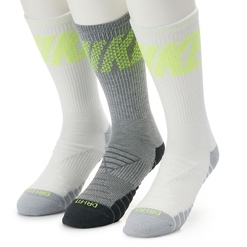 f284e559b3094 Men's Nike 3-pack Dri-FIT GFX Everyday Max Crew Socks