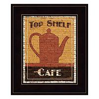 Top Shelf Cafe Framed Wall Art