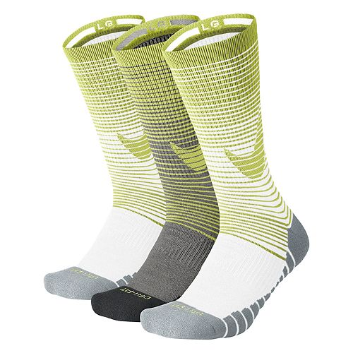 06e99e094a818 Men's Nike 3-pack Dri-FIT Swoosh HBR Performance Crew Socks