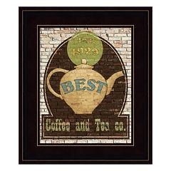 Best Coffee and Tea Framed Wall Art