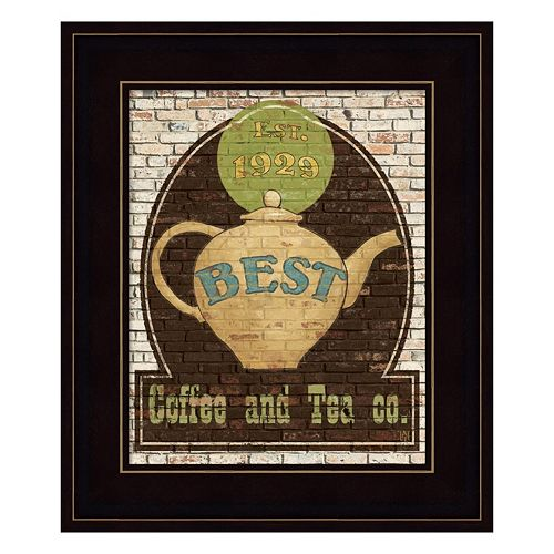 Best Coffee and Tea Framed Wall Art