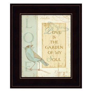 Secret Garden I Framed Wall Art