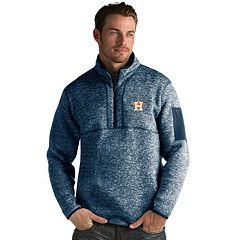 Men's Antigua Houston Astros Fortune Pullover