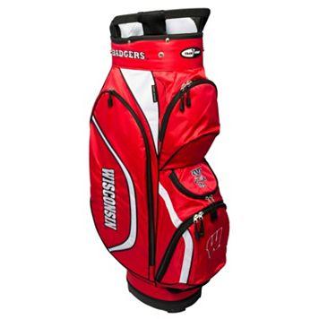 Team Golf Wisconsin Badgers Clubhouse Golf Cart Bag