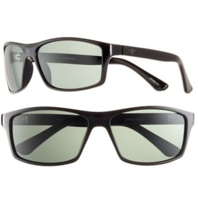 Men's Dockers Polarized Black Wrap Sunglasses