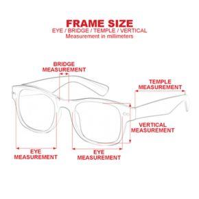 Men's Dockers Polarized Matte Blade Sunglasses