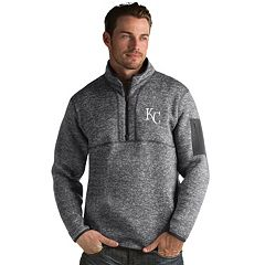 Men's Antigua Kansas City Royals Fortune Pullover
