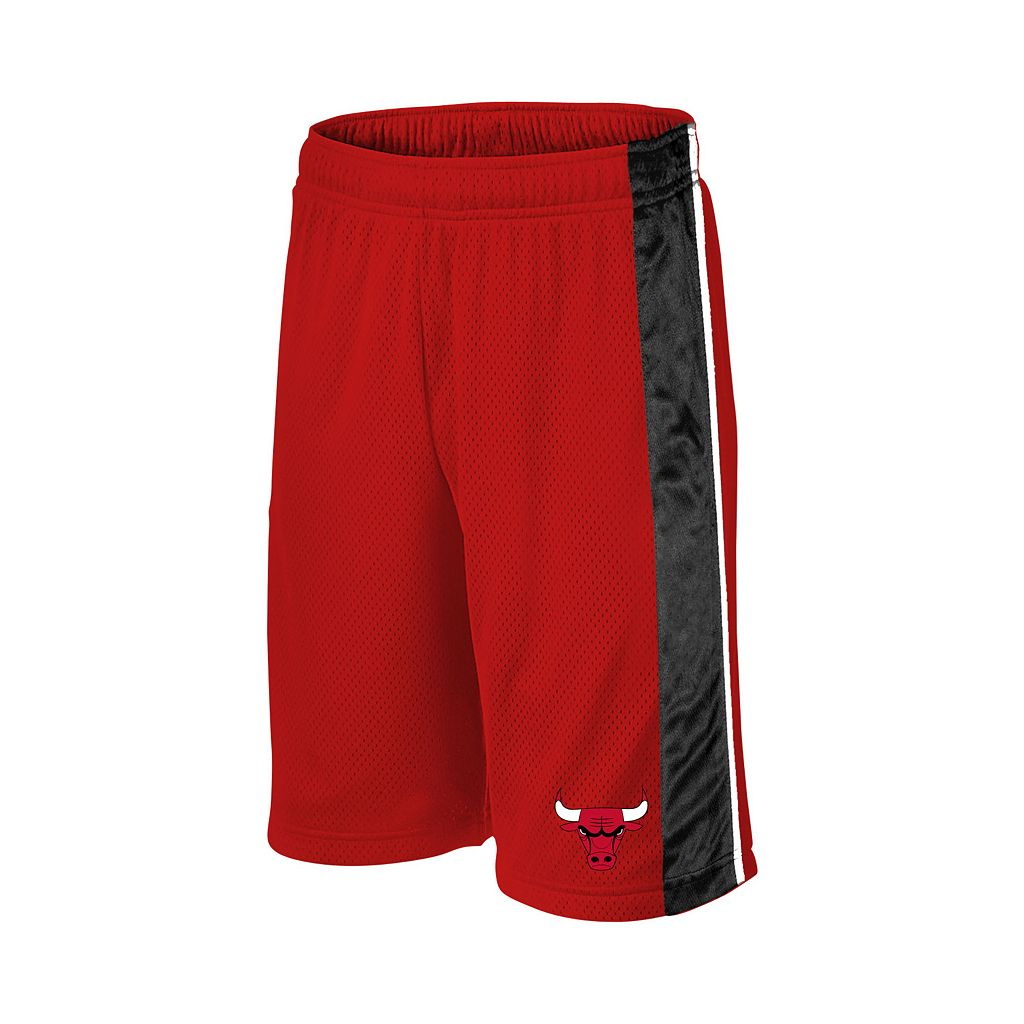 Boys 8-20 Majestic Chicago Bulls Birdseye Shorts
