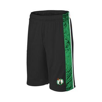 Boys 8-20 Majestic Boston Celtics Birdseye Shorts