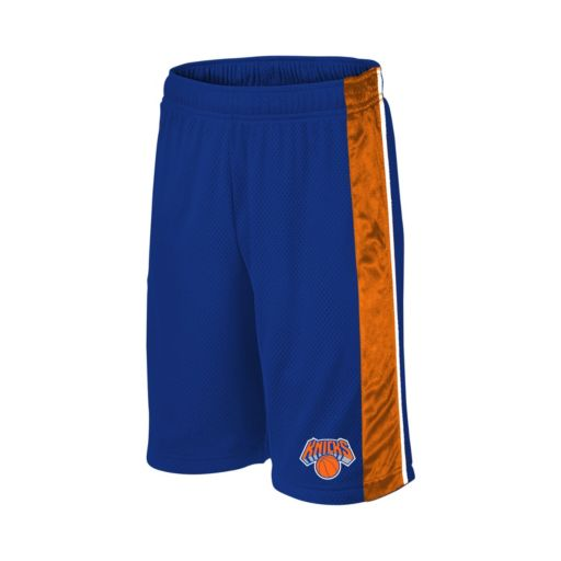 Boys 8-20 Majestic New York Knicks Birdseye Shorts